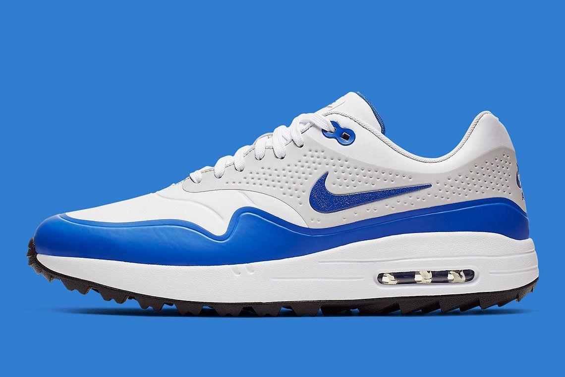 Nike Air Max 1 Golf Blue Side