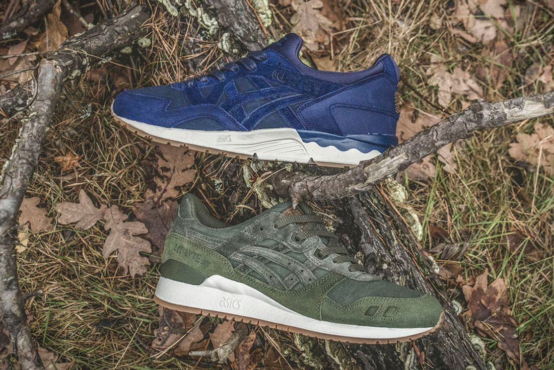 Sneakersnstuff X Asics Forest Pack3
