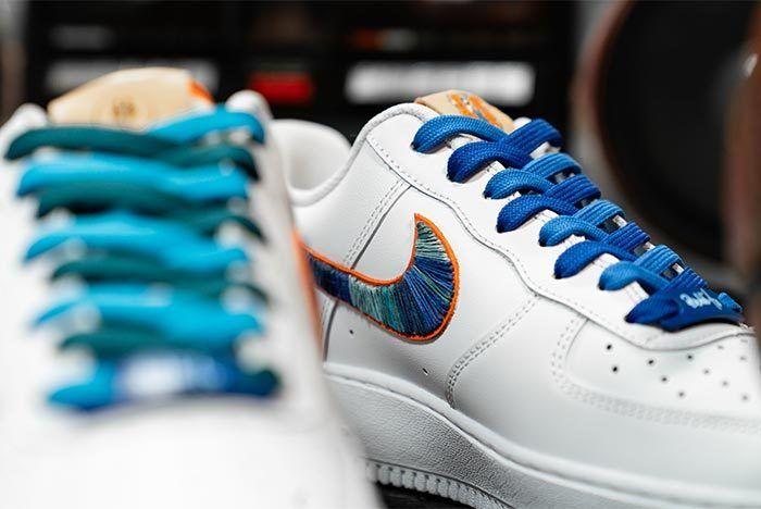 Afew Store X Bobbito Garcia Nike Air Force 1 Rock Rubber 45S 8