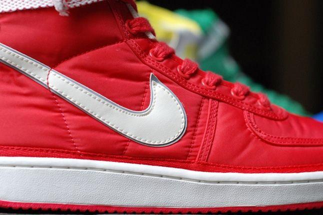 Nike Vandal Supreme Red Midfoot Detail 1