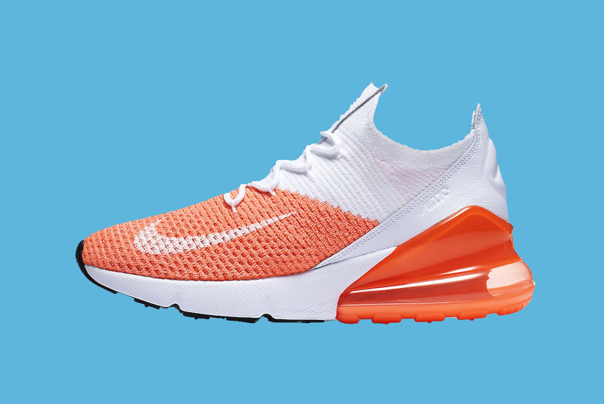 Nike Air Max 270 Flyknit Crimson Pulse 1 Sneaker Freaker