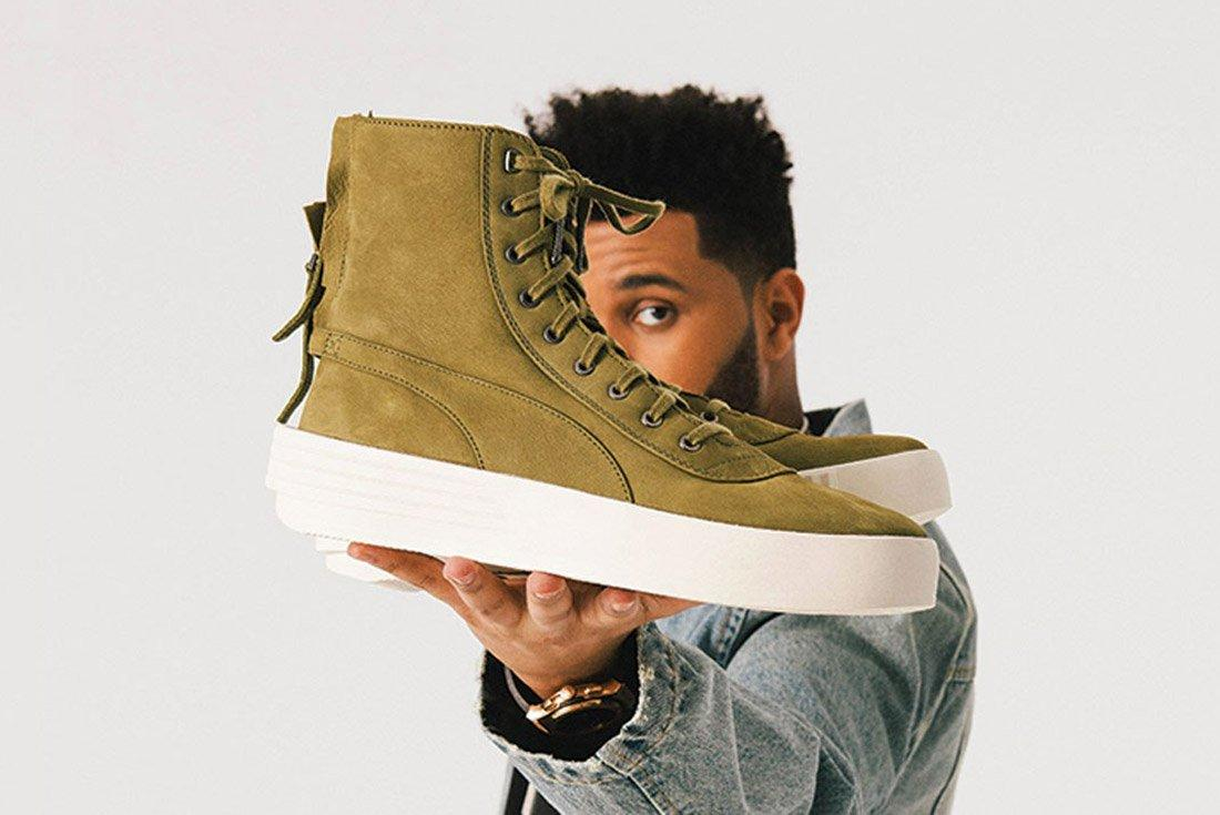 The Weeknd X Puma Parallel 1