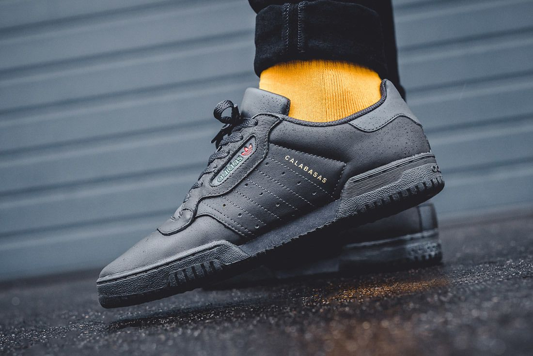 Adidas Yeezy Powerphase Core Black Calabasas On Foot 5