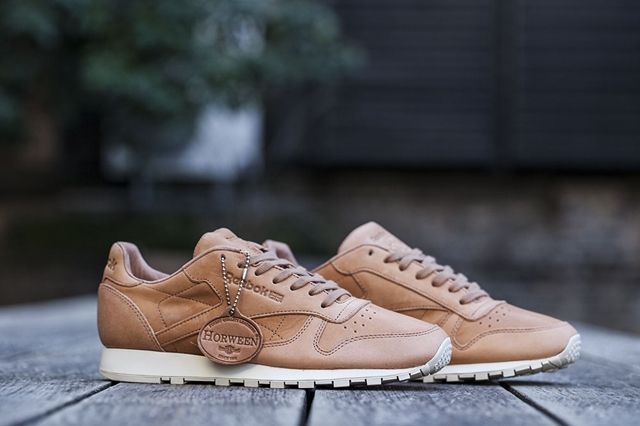 Reebok Classic Leather Lux Horween Natural 2
