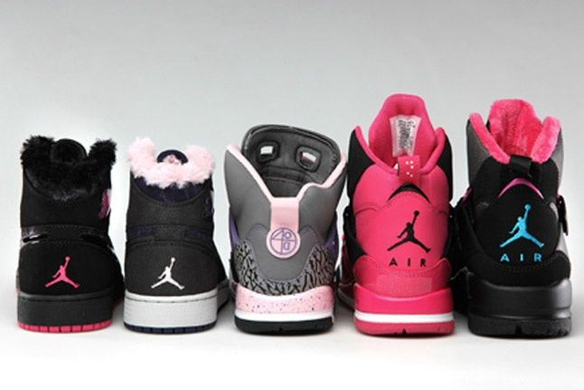 Jordan Brand Girls Holiday 2012 Sneaker Collection 1