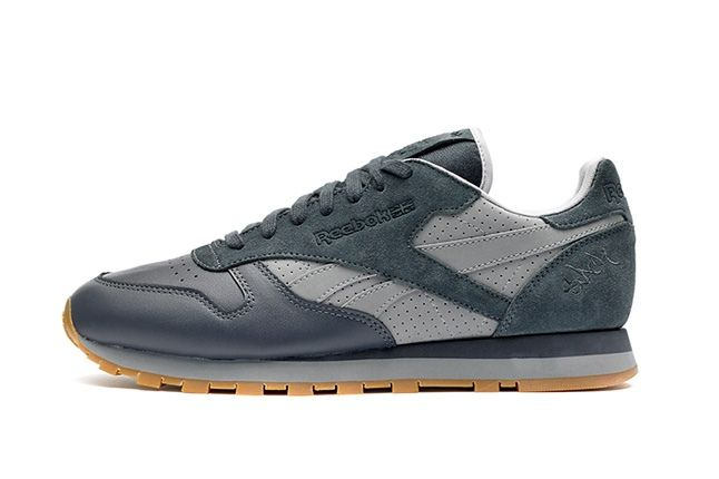 Reebok Classic Leather Stash Grey Profile 1