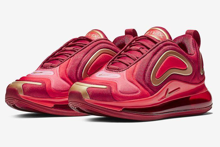 Nike Air Max 720 Team Crimson