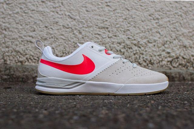 Nike Sb Project Ba Beige Laser Crimson 7