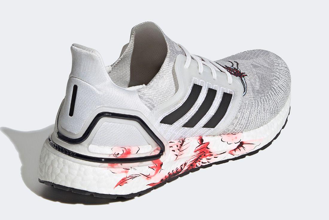 Adidas Ultraboost Cny Grey Back