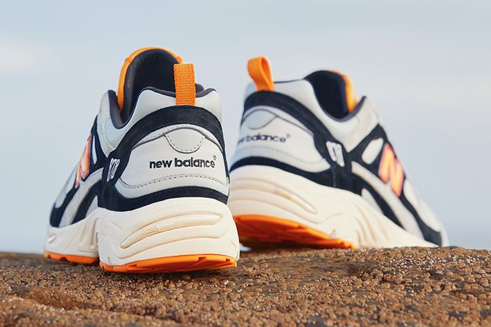 End New Balance 878 Grey Gull Release Date Heel