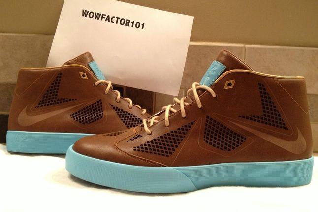 Nike Lebron X Lifestyle Nrg Leather Back To Front 1