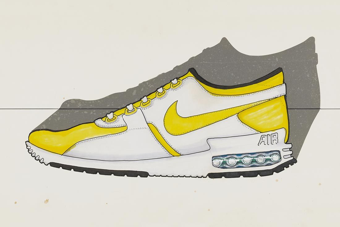 Nike Air Max Zero Original Sketch