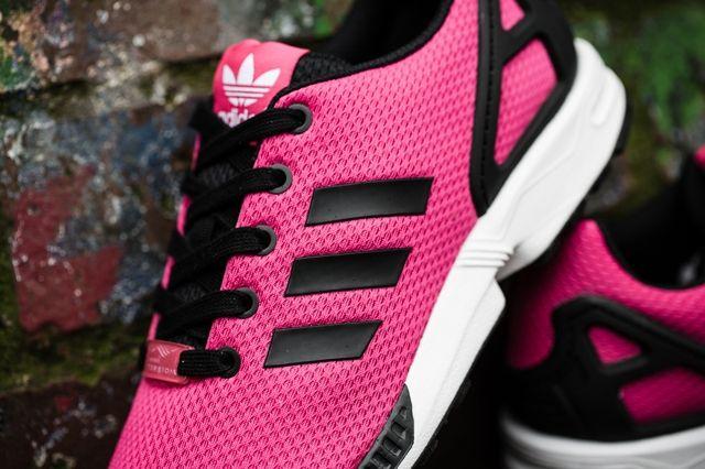 Adidas Zx Flux Kids Bold Pink 1