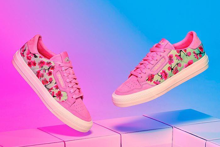 Arizona Iced Tea Adidas Continental Pink