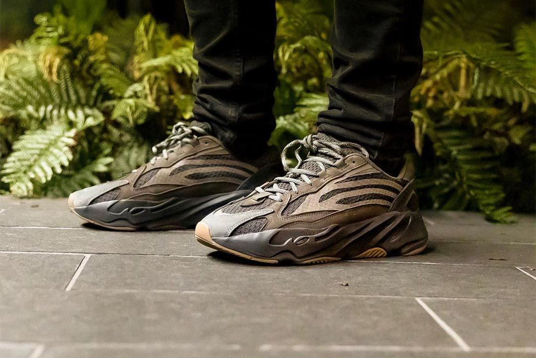 Yeezy 700 Geode Side Shot On Foot 1