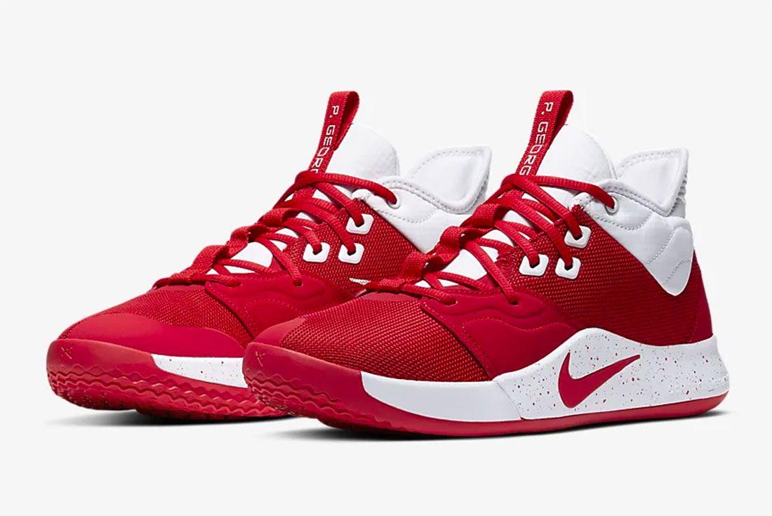 Nike Pg 3 Gear Up University Red Pair