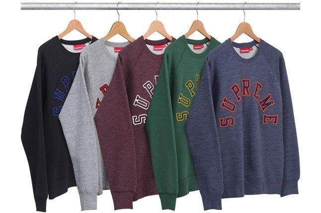 Supreme Varsity Sweater 1