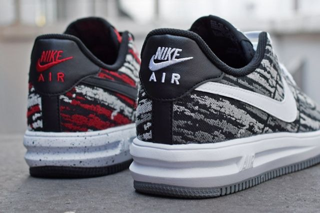 Nike Lunar Force 1 Holiday Pack Jacquard Bump 3