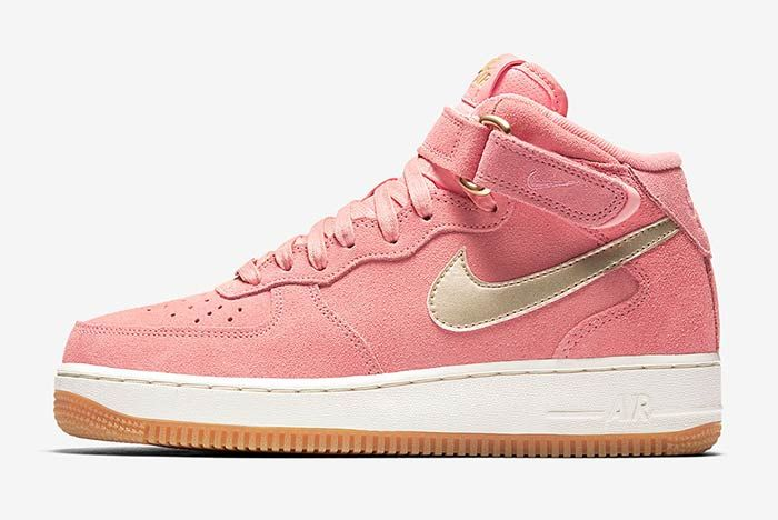 Nike Air Force 1 Mid Bright Melon 1