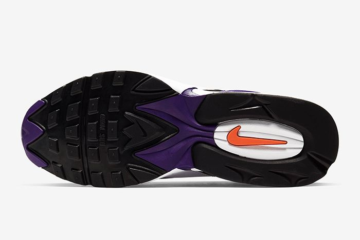 Nike Triax 2 White Purple Sole