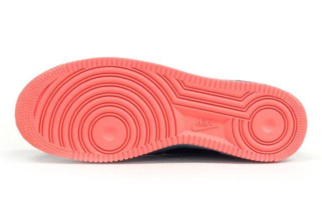 Nike Air Force 1 Blu Sax Orange 3