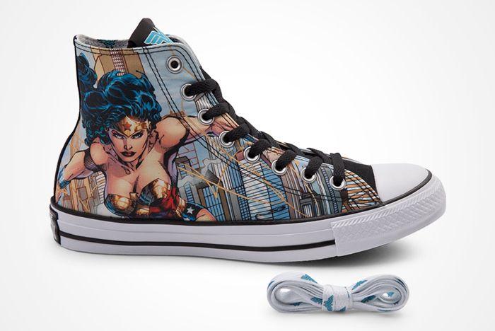 Dc Comics X Converse Chuck Taylor All Star ' Wonder Woman' 2012 Present2
