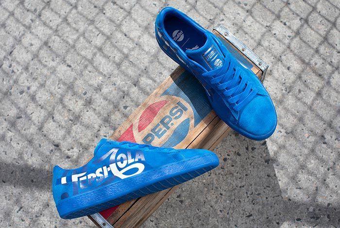 Pepsi Puma Suede 14