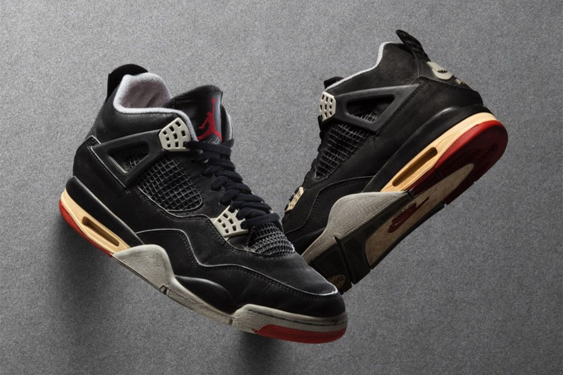 Hero Air Jordan 4 Best Greatest Ever All Time Feature