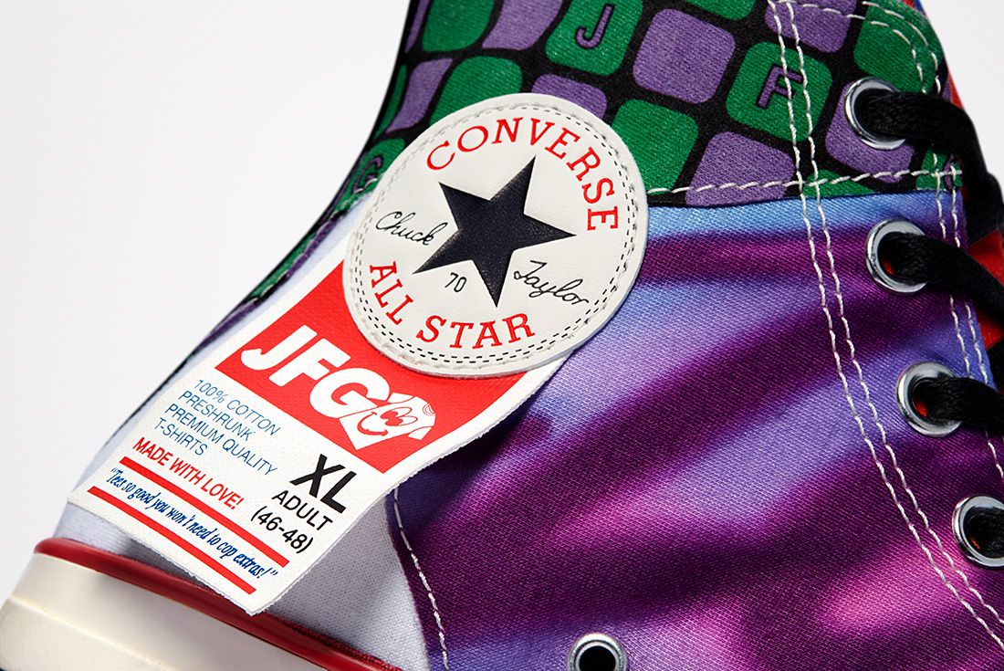joe freshgoods x converse collection hero chuck 70