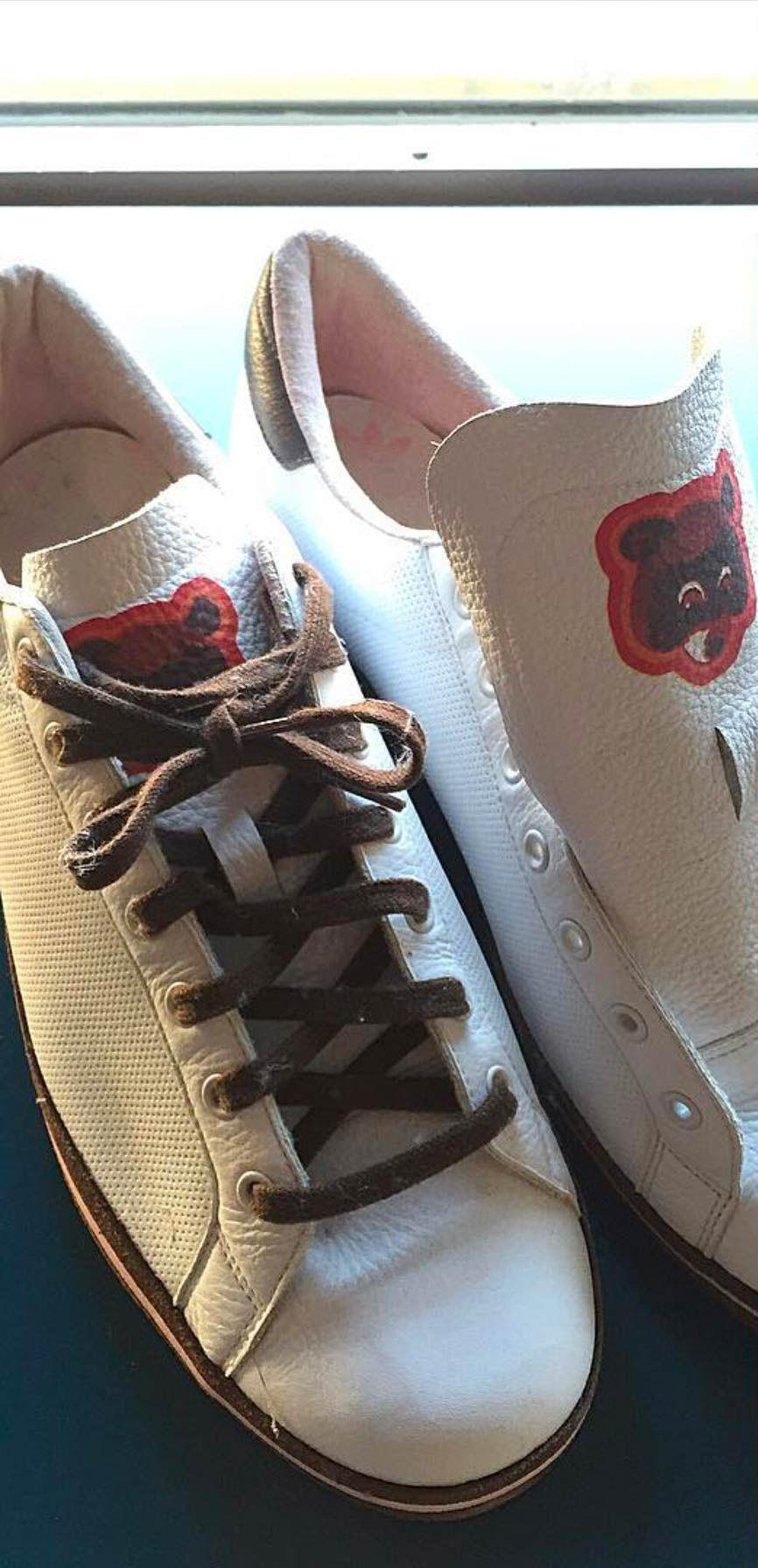 Kanye Rod Laver Adidas Colab