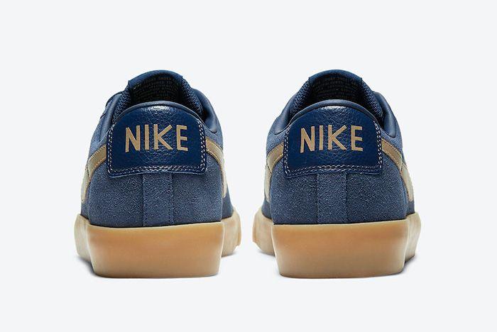 Nike Sb Blazer Low Gt Midnight Navy Gum 704939 403 Release Date Official 6