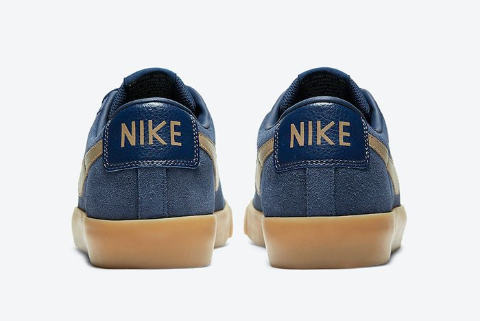 Nike Sb Blazer Low Gt Midnight Navy Gum 704939 403 Release Date Official 6