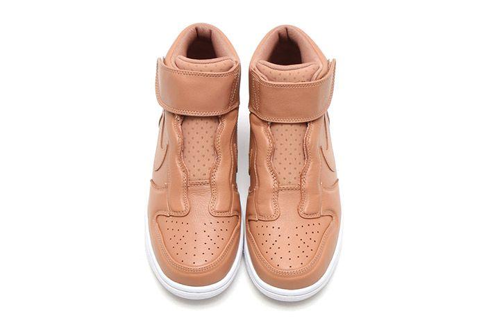 Nike Dunk Hi Ease Womens Tan 1