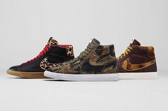 Nike Blazer Mid Safari Collection Bumper 10