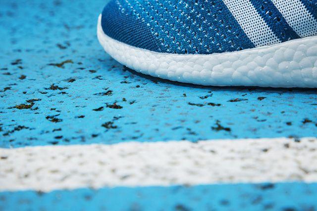 Adidas Primeknit Pure Boost Solar Blue 7