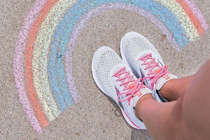 Brooks Rainbow Sneaker