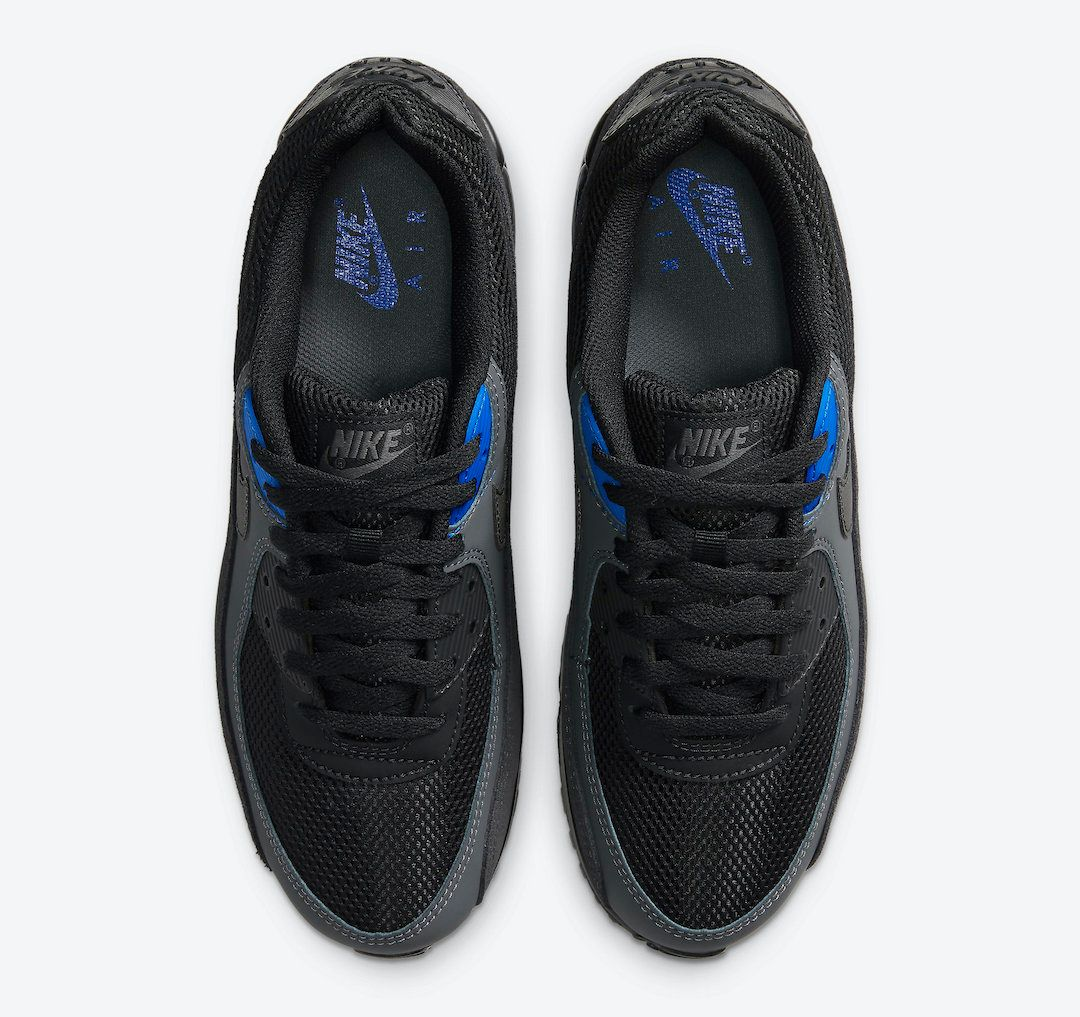 Nike Air Max 90 Black Royal Top