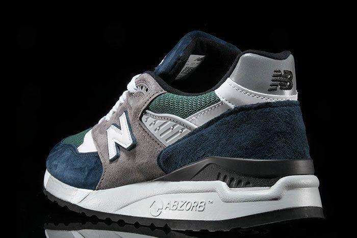 New Balance 998 Navy Green 2