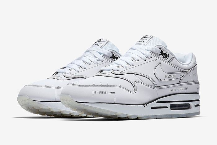 Nike Air Max 1 Sketch To Shelf Cj4286 100 Three Quarter Angle Side Shot