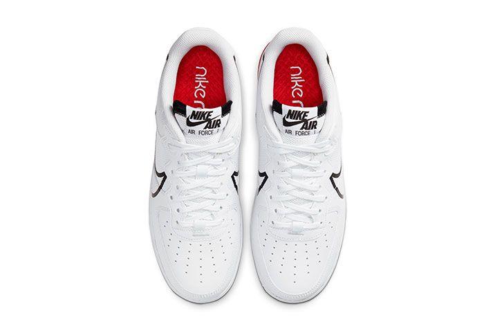Nike Air Force 1 React White Top