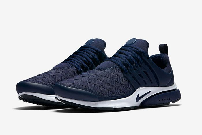 Nike Air Presto Woven Navy Blue 2
