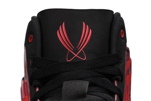 Nike Zoom Hyperflight Max Red Camo Tongue