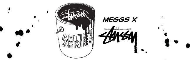 Meggs X Stussy Tees 1