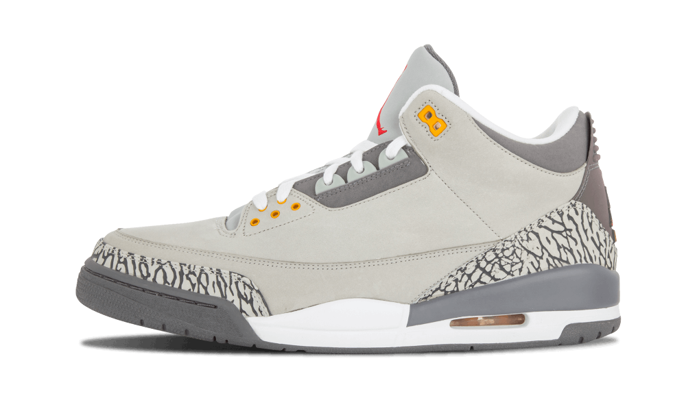Air Jordan 3 Cool Grey Right