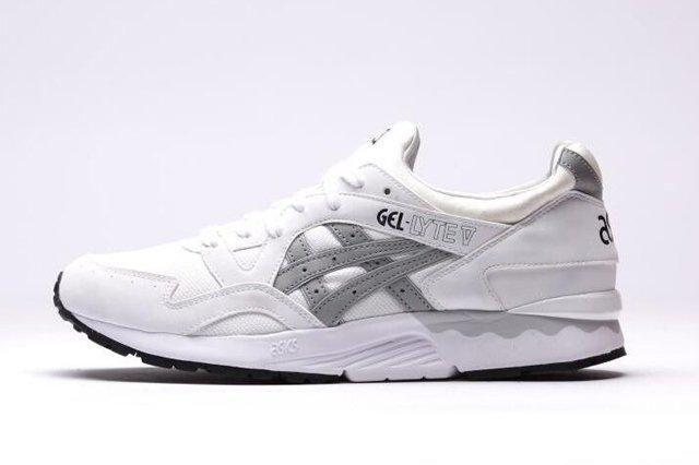 Asics Gel Lyte V White Grey 5