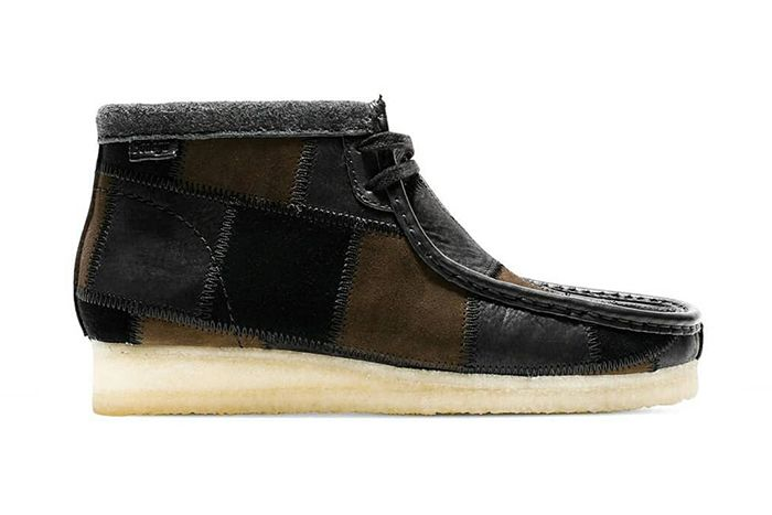 Bodega Clarks Wallabee Boot Patchwork Brown Release Date Lateral
