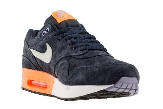 Nike Air Max 1 Prm Dark Obsidian Atomic Orange 2