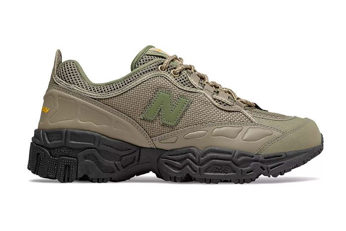 New Balance 801 Covert Olive 3 Side