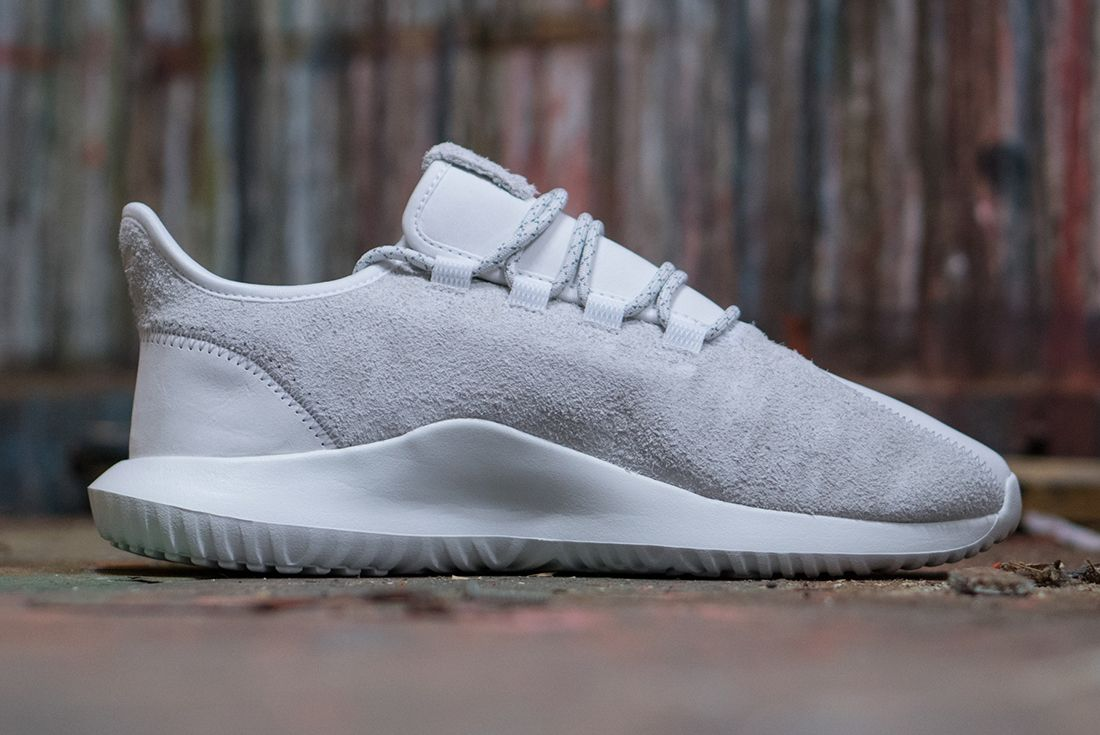 Adidas Tubular Shadow Suede White 3