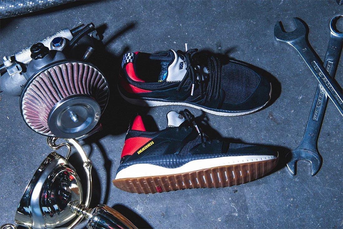 Sneakerness Puma Tsugi Black Race Car Club 5